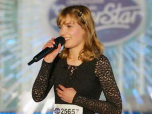 Marie Wegener bei DSDS