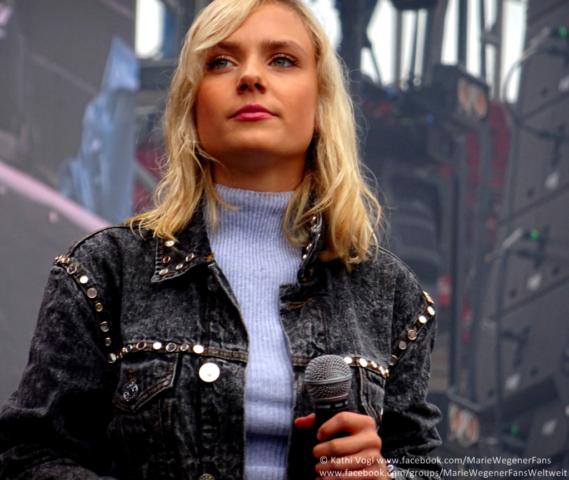 Marie Wegener - Andreas Gabalier Tour in Nürnberg | 13.07.2019